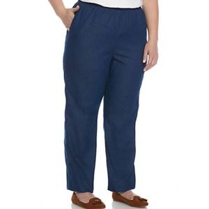 Alfred Dunner Plus Size Classic Pant Size 18W